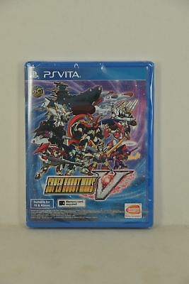 PSV PS Vita Super Robot Taisen War Wars 5 V 超級機械人大戰V (HK ENGLISH)-Ship NOW!