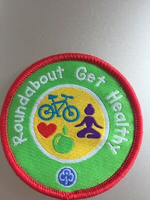 Rainbow Roundabout Get Healthy Badge