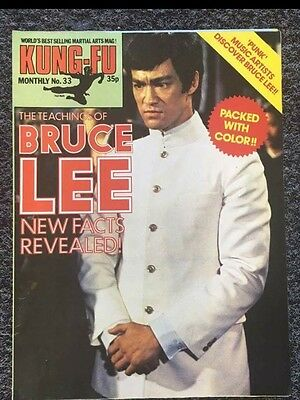 Bruce Lee Poster Magazine