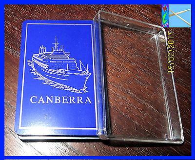 SS Canberra Playing Card Deck Cruise Ship Now Broken for Scrap - GENUINE VGC