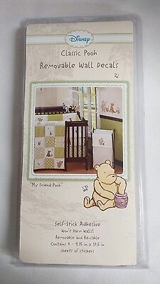 """Classic Winnie the Pooh Removable Wall Decals Disney """"My Friend Pooh"""""""