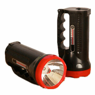 LED Rechargeable LED Handheld 1000mAH Police Tactical Flashlight Torch