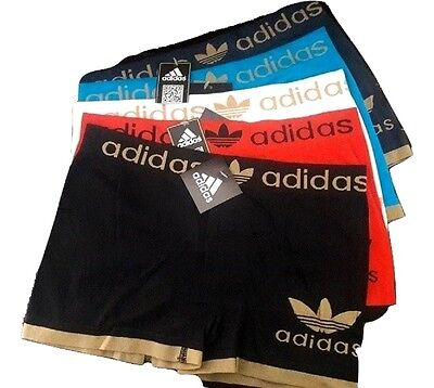 adidas Men's Underwear Sport Boxer Brief One Size Seamless Athletic Stretch.