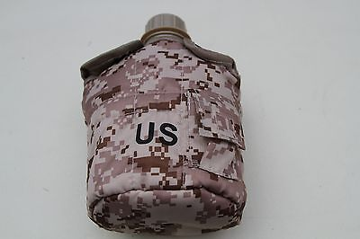 Desert Camouflage flask army canteen with camo belt pouch,MILITARY WATER BOTTLE