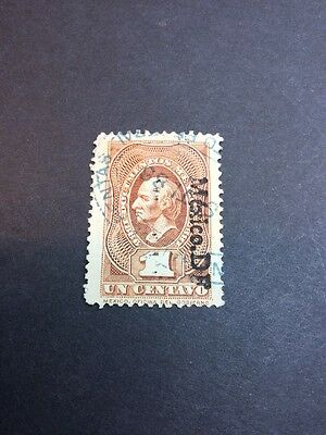 Mexico Documentary Revenue Fiscal Stamp Used (s963)