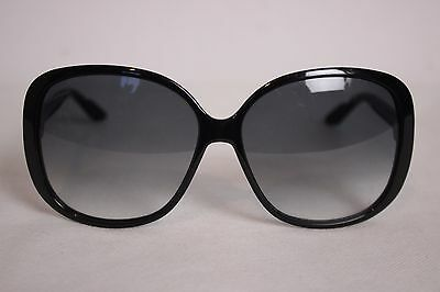 Gucci 3157/S Black Oversized Butterfly Women's Sunglasses *61-14-135*