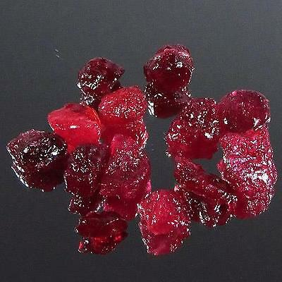 Lot 35.37 ct - Beautiful Heated Natural Rough Red Ruby Madagascar