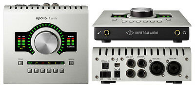 Universal Audio Apollo Twin Solo Interface and thunderbolt cable