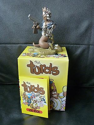 The Turds Turdinator Poo figurine, boxed!!!!