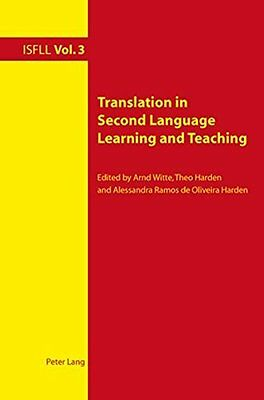 Translation in Second Language Learning and Paperback Book - New - 9783039118977