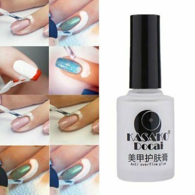 Nail Art Peel Off Base Coat Liquid Tape Cream Polish Palisade Cosmetics Latex UK