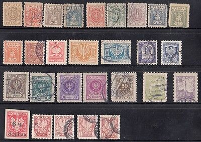 Stamps Poland lot