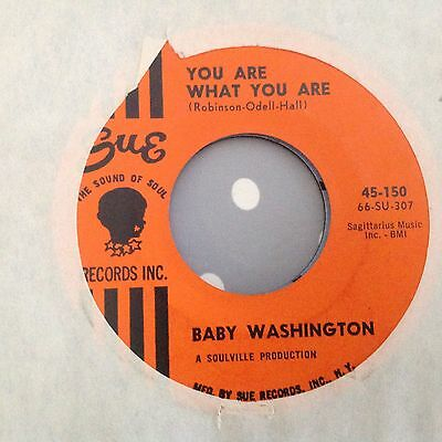Baby Washington-You Are What You Are/either You're With Me Or You're Not-Sue 150