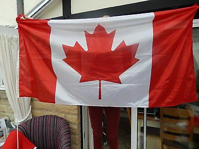Canada Flag 5.5 ft x 3 ft with toggle