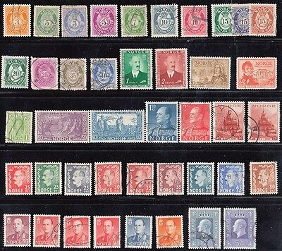Stamps Norway lot