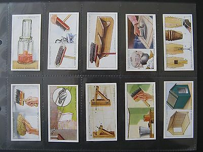 Cigarette Cards. Wills - Household Hints 1936. Full Set In Sleeves.