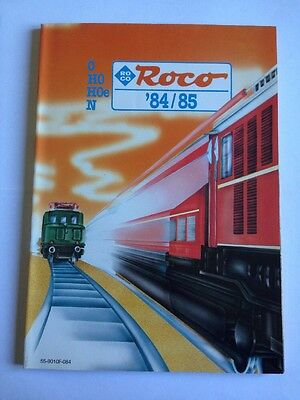 Gros catalogue  ROCO 1984 / 1985 - 196 pages - langue FR - TBE