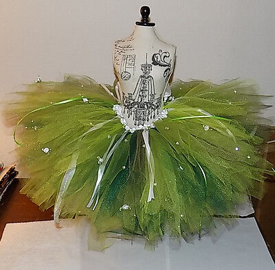 Toddler TuTu St. Patricks Day/Garden Fairy/Green Princess 2T -3T size