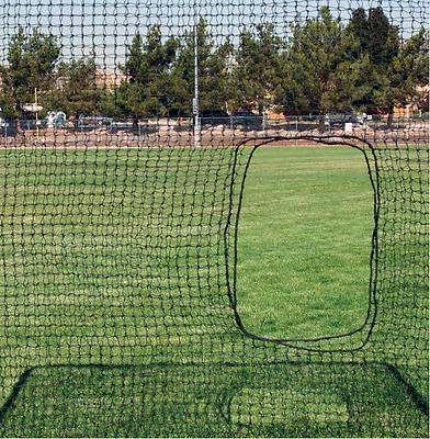 Replacement Softball Net 7'x7' Screen Netting 54PLY #42 HDPE, Net Only