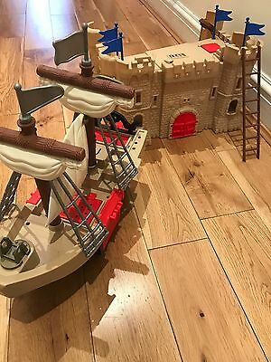 Playmobil Large Pirate Ship and Castle - Absolute Mint Condition