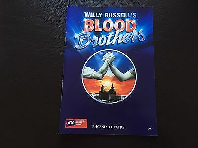 Blood Brother's Willy Russell Theatre Musical Programme Collectable