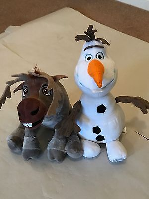 Disney Frozen Olaf and Sven. Olaf is Official Disney store while Sven is gift