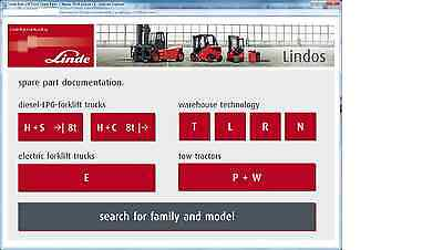 Linde Forklift Truck Spare Parts2015 + Diagnosis and Repair 2016