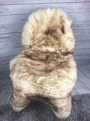 XL Large 100 % Genuine Fluffy Sheepskin Rug Sheep Long Soft Fur Carpet SB062