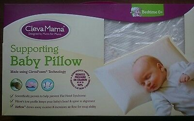 Clevermama baby pillow, brand new still in box