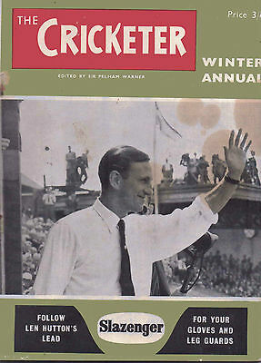 The Cricketer Winter Annual 1953-54