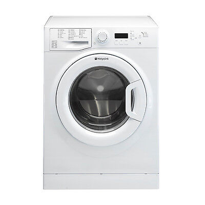 Hotpoint WMBF944P Washing Machine, 9 kg Wash Load, 1400 RPM Spin Speed - White