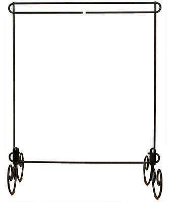 QUILT STAND, 12in x 14in No Header, Charcoal Finish By Ackfeld Manufacturing NEW
