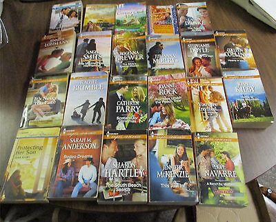 Harlequin Super/Am. Romance Lot of 22 Assorted Paperback novels; Various Authors