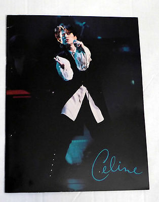 Celine Dion,The color of my Love,Canada  tour book,24 pages,1993