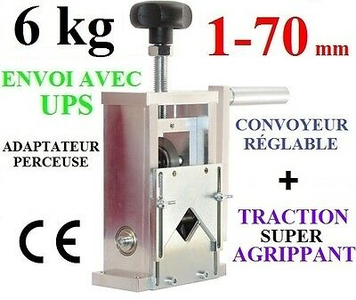 RECYCLAGE CUIVRE CABLES MACHINE DENUDEUSE DE FILS Cable Stripping Machine new