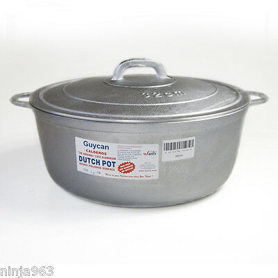 Guycan Dutch Pot 32cm Extra Large Dutch Oven / Dutchie