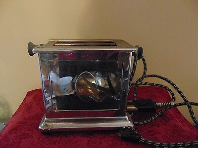 Rare Vintage Antique UNIVERSAL Toaster Side Out