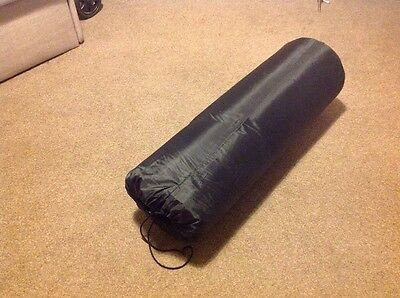 Easy Camp Double Self Inflating Camping Festival Mat Black