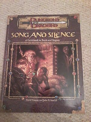 Dungeon & Dragons: Song and Silence - A Guidebook to Bards & Rogues