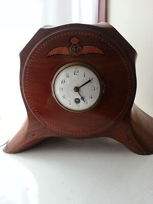 Ww1 Airplane Propeller Clock - Trench Art Clock - Collectable Clock - Rare
