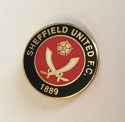 SHEFFIELD UNITED Football Club Badge FC UTD Supporters PIN 2 of 2