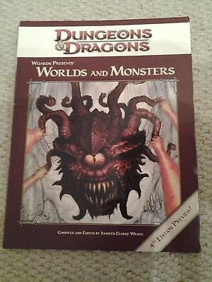 Worlds & Monsters : Dungeon and Dragons