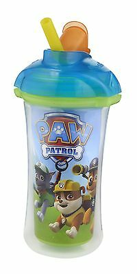 Munchkin Paw Patrol Click Lock 9-Ounce Insulated Straw Cup Blue - Assorted