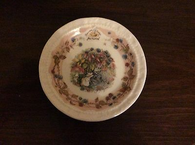 Royal Doulton Bramley Hedge Coaster Autumn