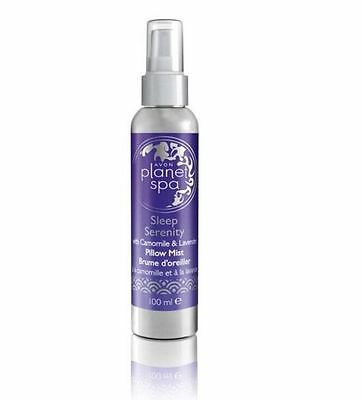 Avon Planet Spa Sleep Serenity Pillow Mist With  Camomile & Lavender 100Ml