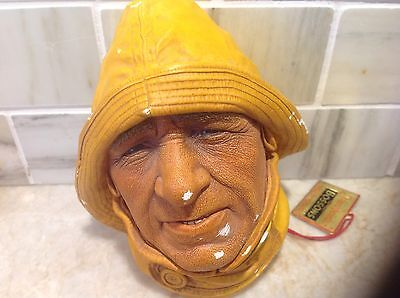 Bosson Head Life boatman Wall Ornament sold as is