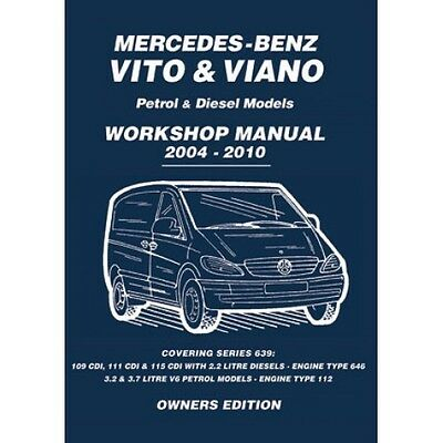 Mercedes Vito & Viano 2004-2010 Owners Workshop Manual MBV4WH