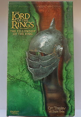 Rare Sideshow Weta Lord Of The Rings Orc Trapjaw Helm. 1/4 Scale. Bnib