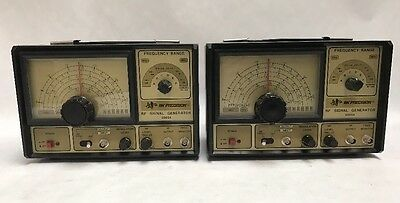 LOT OF 2 Vintage BK Model 2005A  Precision RF Signal Generator