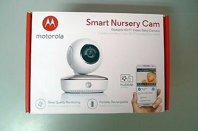 Motorola Smart Nursery Portable WiFi Video Baby Camera Monitor - MBP87CNCT